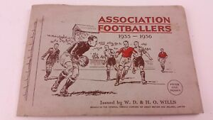 Association Footballers 1935-1936 Cigarette card Book WD & HO Wills FREE UK P&P