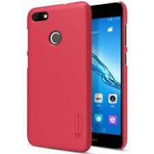 Coque protection Frosted Shield rouge + film écran Y6 PRO 2017