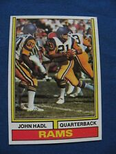 1974 Topps John Hadl L.A. Rams card #50 NFL football $1 S&H