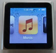 Apple iPod nano 6th Generation 8GB Silver MC525LL/A 30 DAY WARRANTY  0709-01