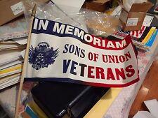 "Sons of the Union Stick Flag 10""x17"" (24 Pcs)"