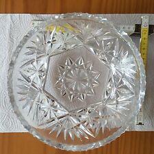 Kristallschale Bleikristall Sahneschale alt antik sehr schön 1 Weihnachten