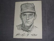 NOLAN RYAN-STARK-DAILY NEWS PORTFOLIO SKETCH- 1969