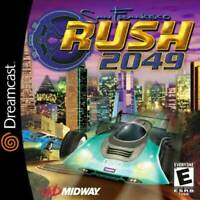 San Francisco Rush 2049 Sega Dreamcast Game Used