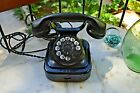 ANTIQUE SIEMENS TELEPHONE WITH GREEK CHARACTERS BAKELITE AND METAL MADE