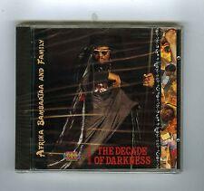 CD (NEW) AFRIKA BAMBAATAA AND FAMILY (1990>2000)DECADE OF DARKNESS