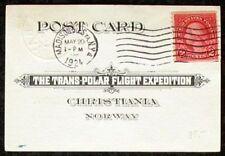 s805) Norwegen Transpolarflug 1924/5 North Pole Mail Madison 24 + Kings Bay 1925
