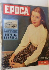 EPOCA 14 luglio 1957 Jacqueline Sassard Kruscev Diana Dors Gabriella Van der Mal