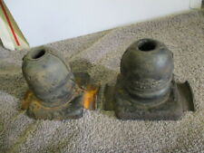 ford escort mk2 rear suspension bump stops x2,ideal spares,used,fastpost