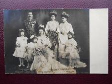 Royal Wedding Prince Alexander of Teck Princess Alice of Albany 1904 Bridesmaids