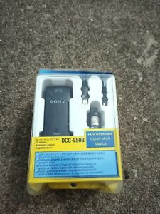 Sony Car DC Adapter Charger DCC-L50B for Handycam, Cybershot, Mavica Genuine