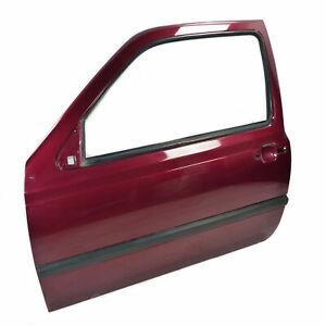 VW Golf III 3 Porte avant Gauche Porte Passager Rouge Bordeaux 3-Türer