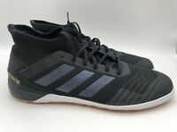 adidas Predator Tango 19.3 IN Men's Indoor Soccer Shoes Black F35617 Size 12