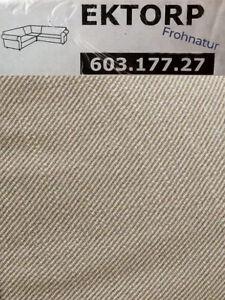 Ikea EKTORP Bezug Ecksofa 2/2 Nordvalla dunkelbeige NEU OVP 603.177.27 Ersatz