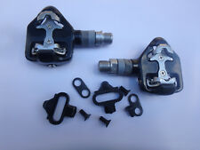 Wellgo Rc-713 Road Bike Pedals Type SPD W/ Cleats. nos