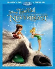 TINKER BELL AND THE LEGEND OF THE NEVERBEAST New Sealed Blu-ray + DVD
