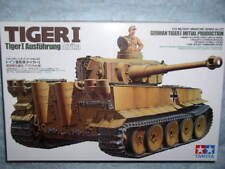 Tamiya 1/35 German Tiger I Initial Production Model Tank Kit #35227