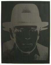 WARHOL ANDY RARE SÉRIGRAPHIE NUM/25 NUMB25 SILKSCREEN BEUYS LAFAYETTE GALLERY NY