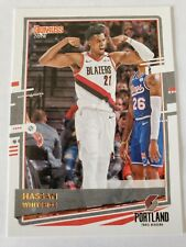 2020-21 Donruss Basketball Base #66 Hassan Whiteside Portland Trail Blazers