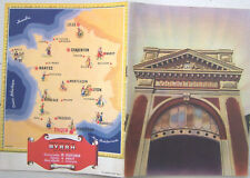 Plaquette publicitaire années 1950 BYRRH Caves Violet à THUIR 20 pages BE