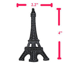 EIFFEL TOWER PARIS FRANCE EMBROIDERED IRON ON PATCH SEW APPLIQUE JEANS DIY