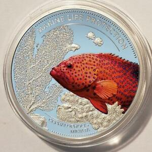 Coral Hind 2016 Palau Marine Life Protection Series Ag Plt and Color