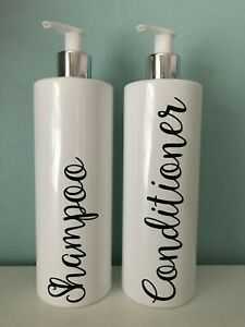 Labels - Set of 2 - Shampoo & Conditioner