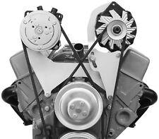 Alan Grove SBC SB Chevy Steel AC Air Compressor Alternator Brackets 100R 200L