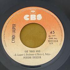 "CYNDI LAUPER COSTA RICA SINGLE 7"" 45"