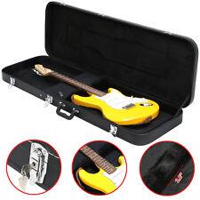 Bass Guitar Hard Case Fits Most Standard Electric Bass Guitars Hardsell Black