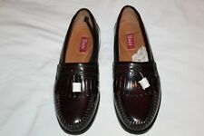 mens bass burgandy weejuns size 9 new