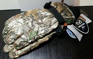 NEW Manzella Woodsman Hunt Gloves Camouflage Waterproof large H152M RX1 WARMEST