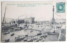 Esperanto – ak 5-a Universala Kongreso barcelona 1909 – placo de la paco – gel.