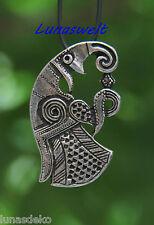 Vor Wikinger-zeitliches Raben-Amulett nach einem Originalfund aus  Skandinavien