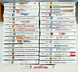 Nintendo 3DS Games Fun Pick & Choose Video Games