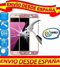 "Protector Pantalla Cristal Templado 2D COMPLETO ROSA SAMSUNG GALAXY S7 0.26mm """""