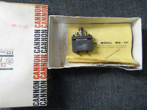 MK-9P 9 pin SUBMINIATURE PANEL PUNCH SPC
