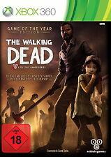 Microsoft XBOX 360 The Walking Dead A Telltale Games Series Game of the Year Edi