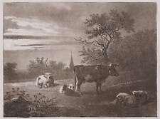 Johann Christian Klengel-Perdόname pastor-aquatinta 1790