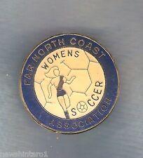 #D109. Far North Coast Women'S Soccer Association Lapel Badge