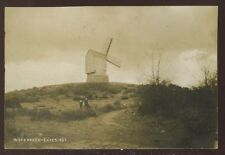 Leicestershire WOODHOUSE EAVES Windmill early RP PPC