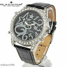 """*WOW* GENUINE """"BLINGSTER"""" """"HIP HOP NATION"""" MENS WATCH"""