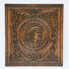 Antique French Carved Oak Renaissance Style Man Architectural Salvaged Panel