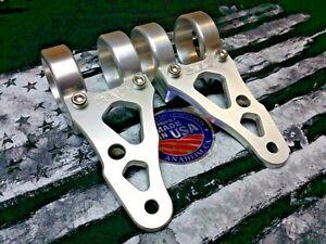 PMC USA Triumph Thruxton Bonneville T100 Headlight bracket brackets Billet OFS