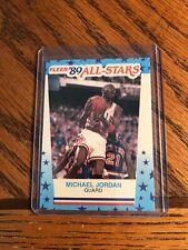 1989-90 Fleer All-Stars #3 Michael Jordan Sticker
