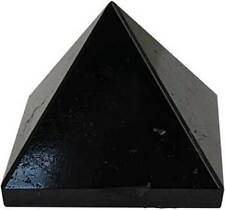 "Black Tourmaline Pyramid (1"" - 1 1/4"" Wicca Crystal Reiki Healing) US Seller"