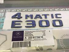 "2018 ""E300 4 MATIC"" High quality Rear Trunk Emblem Decal Badge FOR Mercedes Benz"