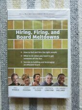 Skill Builder Leadership Development: Hiring, Firing, & Board Meltdowns DVD NEW