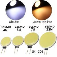G4 4W/5W/7W/12W LED COB Stiftsockel Glühbirne Leuchtmittel Spotstrahler DC12V