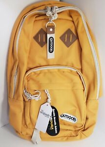 """Outdoor Products 73 Originals Sierra LARGE 18"""" Back Pack Laptop Bag Golden Spice"""